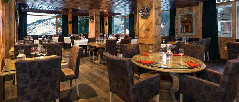 Hotel Le Mottaret - restaurant